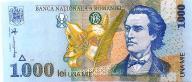 # RUMUNIA - 1000 LEI - 1998- P106 - UNC-