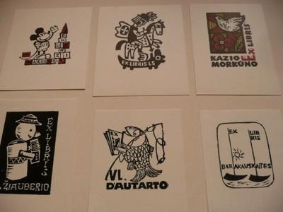 11 ekslibrisów twórców litewskich