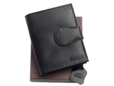 6ef1a6e868a469 Damski portfel skórzany Loren z bigielem - 5983393165 - oficjalne ...