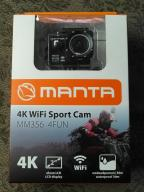 Kamera sportowa Manta mm356 4fun 4k