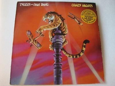 TYGERS OF PAN TANG CRAZY NIGHTS LP+12'' UK EXVG
