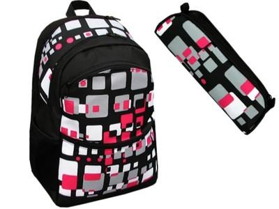 8d0f224c186ba KOMPLET szkolny plecak piórnik plecaki piórniki PL - 6096721166 ...