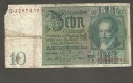 NIEMCY - 10 marek 1924 / 1929 rok