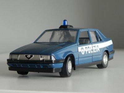 Stare Bburago Alfa Romeo 75 Polizia 1 24 Burago 6179550413 Oficjalne Archiwum Allegro