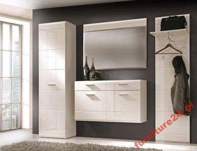 Furniture24 Przedpokój Aveo Biały Połysk 6045614125