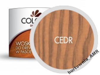 Wosk do drewna pasta CEDR 500ml COLORIT najtaniej
