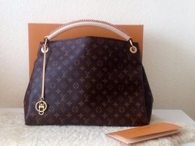 97d275a782871 Louis Vuitton**MONOGRAM ARTSY**NOWY**dokumenty - 6916677432 ...