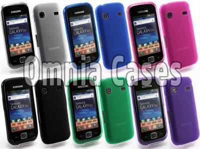 SHINY MAT Etui Samsung S5660 Galaxy Gio +2x FOLIA