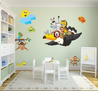 naklejki na ścianę, dla dzieci, dziecka  120 x 240