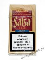 CYGARETKA SALSA GOLD, BLACK CHERRY FILTER - 10 szt