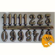 Cyfry arabskie do zegara - złote