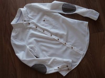 H&M koszula. Łaty na rękawach. 40 6678898170 oficjalne  lz3Qt