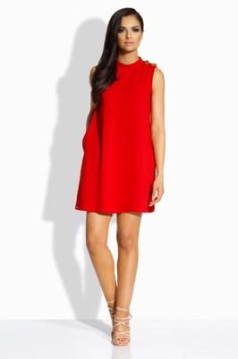296bc0d929 L198 czerwona sukienka M (38) LEMONIADE - 6850551791 - oficjalne ...