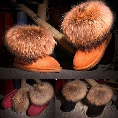 b760a96dfbfdd BUTY ŚNIEGOWCE EMU UGG FUTRO NATURALNE Z LISA HIT buty ugg z lisem