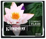 KINGSTON Standard COMPACT FLASH 4GB (CF/4GB)