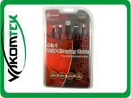 KABEL USB 4w1 PSP NINTENDO NDSI NDSL NDS 4 ZŁĄCZA