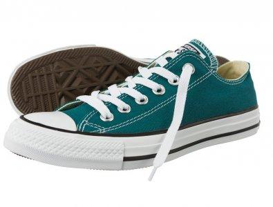 Trampki Converse 151181 (39,5) niskie zielone