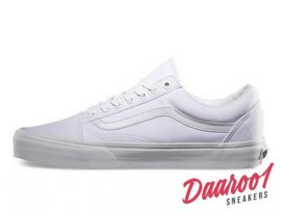 Buty Damskie Vans Old Skool Białe D3HW00 r.36 40