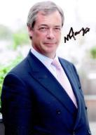 Farage Nigel - Autograf !!
