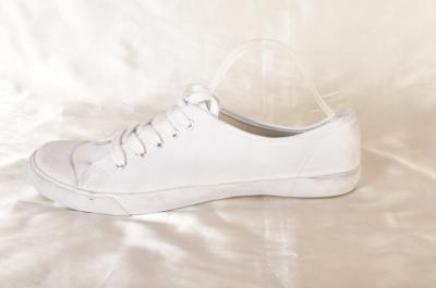 NEXT firmowe białe TRAMPKI tenisówki SOLIDNE 41