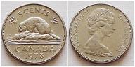 Kanada 5 centów 1978r
