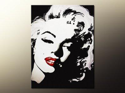 Uv2221 Obraz Marilyn Monroe Płótno 80x100 X2 6536184093