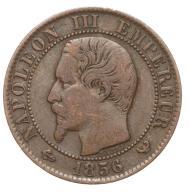 Francja - moneta - 5 Centymów 1856 W - 2