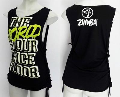 Niewiarygodnie koszulka top na zumbę M,L,XL zumba - 6829683185 - oficjalne EM07