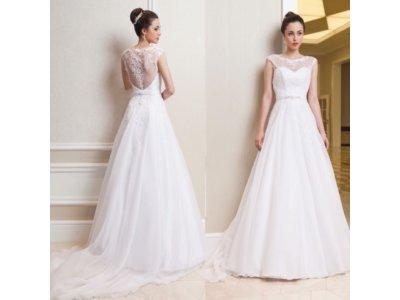 Suknia ślubna Milagros Kryształki Swarovskiego 6634349411