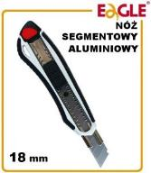 NÓŻ SEGMENTOWY introligatorski METAL 18mm GR-8100