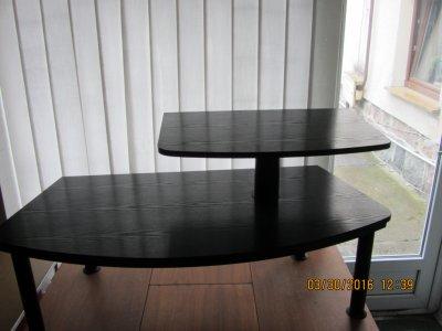 Stolik Pod Telewizor Czarny Używany 6091430951