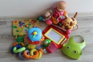 Zestaw zabawek dla dziecka , akcesoria
