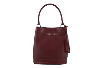 c7364886911c9 Barberini's - klasyczne kuferki skórzane BORDOWY - 6849565173 ...