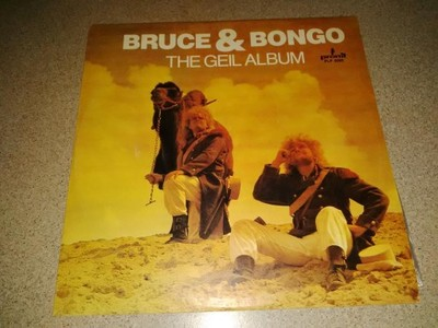 BRUCE AND BONGO - GEIL ALBUM - PŁYTA WINYLOWA