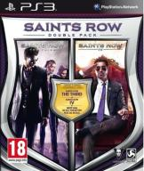SAINTS ROW DOUBLE PACK - THE THIRD + IV + DLC PS3