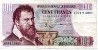 Belgia 100 Francs 05.01.1972 P-134b.9