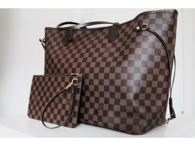 2fade6fdb5aad Torebka damska Louis Vuitton Neverfull LV duża - 6594576794 ...