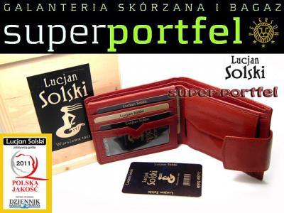 2b9631946fe6e Lucjan Solski Portfel Damski 026-3kol. recycle - 5272226210 ...