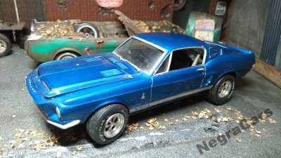 1967 Ford Mustang Shelby Gt500 1 25 6126156007 Oficjalne Archiwum Allegro