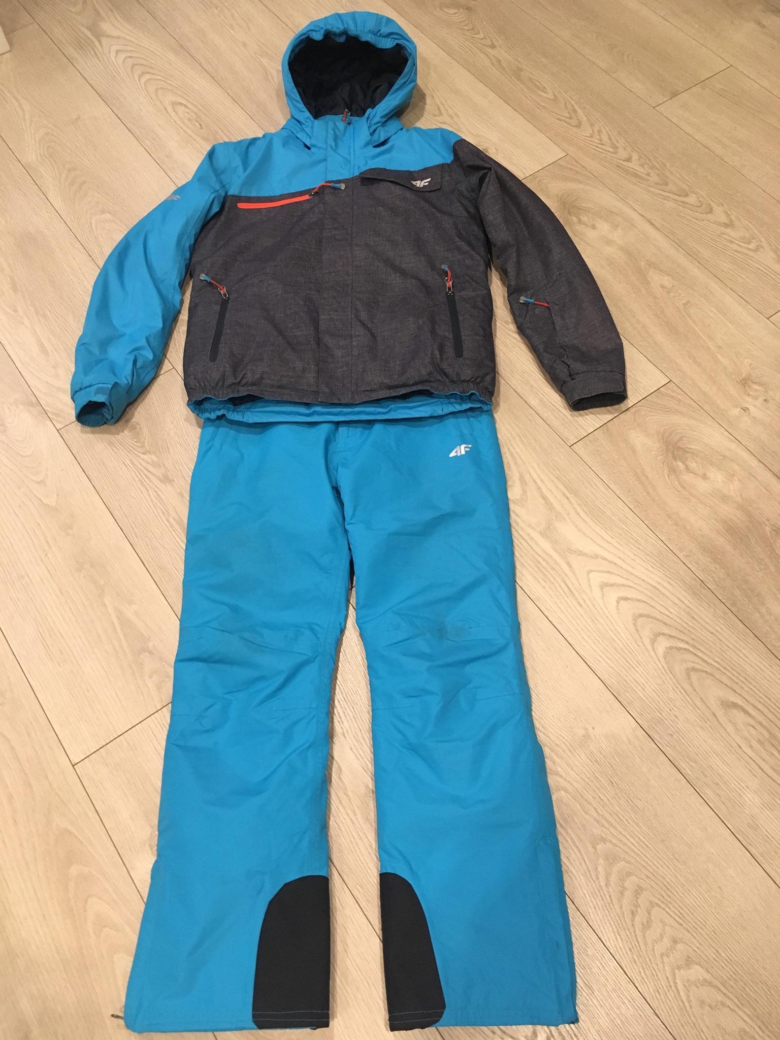 db67c734d 4F komplet narciarski kurtka + spodnie 152 cm - 7011224491 ...