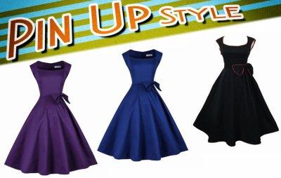 Sukienka Pin Up Vintage 3 Kolory Wesele 2016 36 S 6169986505 Oficjalne Archiwum Allegro