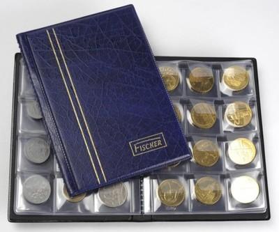 Album - Portfel na 72 monety - Fischer