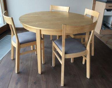 Duzy Stol Rozkladany Ikea 4 Krzesla Od 1 Zl Bcm 6270931172