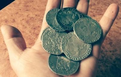 Monety 17 wiek...11szt