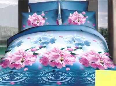 Pościel 3d 160x200 4 Ro Częściowa Kwiaty 6081440215 Oficjalne