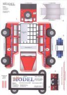 Sklej Model - Samochód terenowy GOPR [STREFA]