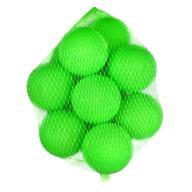Piłki 7 cm SUCHY BASEN piłeczki 12 szt zielony