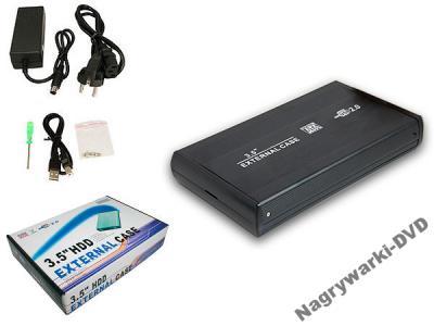 DYSK 3,5 USB 2.0  250 GB  ALU
