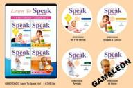 4 DVD LEARN TO SPEAK NAUKA 7 JĘZYKÓW NA DVD VOL1