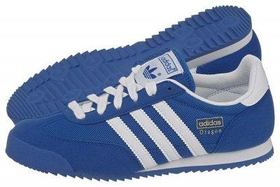 buty adidas damskie dragon niebieskie